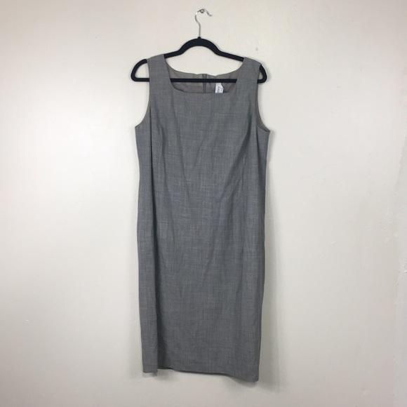 MaxMara Dresses & Skirts - MaxMara Grey Tank Midi Dress